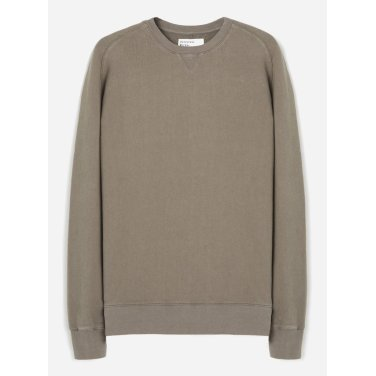 크루 핸들 드라이 스웨트 셔츠 카키브라운 /Classic Crew Sweatshirt in Shadow / 21601