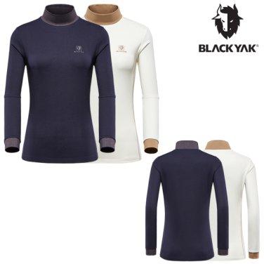 가을/겨울 여성용 기본형 터틀 티셔츠 D터틀티셔츠-2-ELBON