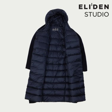 ADD DOWN DOUBLE WOOL COAT INNER DOWN JACKET KAWD 111 Q7ADH6PD007_NAVY