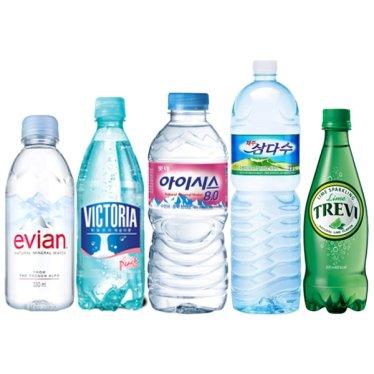 생수/탄산수 모음전 (에비앙/아이시스/스파클/빅토리아/트레비外)
