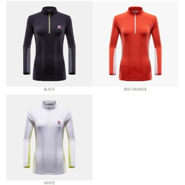 봄/여름 여성용 긴팔기능성티셔츠 B3XS2티셔츠-2EDM