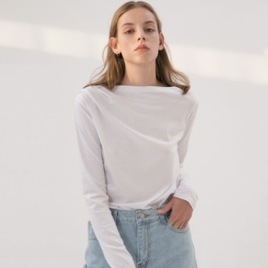 Drape T-shirt - White