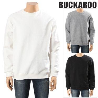 남성용 이중지피케 베이직 맨투맨 티셔츠(B201TS380P)