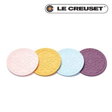 실리콘코스터 4개 세트 - 색상선택