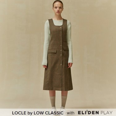 [로우클래식] 19 FALL LOCLE Snap dress_khaki (Z3LCI6DR102)