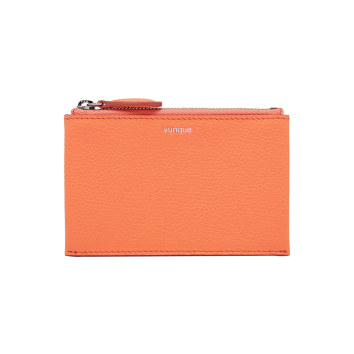 [vunque] Occam Zipper Card Wallet (오캄 지퍼 카드지갑) Coral VQA91CW2011