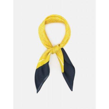 모노 폴 스퀘어 스카프 - Yellow (BE9884M11E)