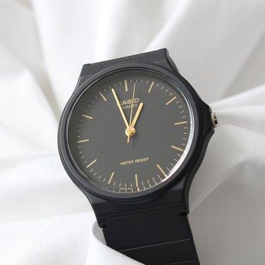 남성 카시오 우레탄 심플 아날로그 손목시계_A0133