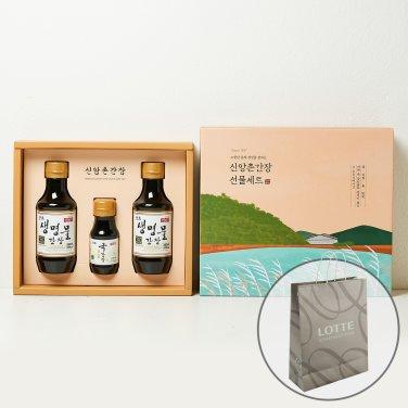 양조간장 선물세트 3호 (백화점쇼핑백 증정)
