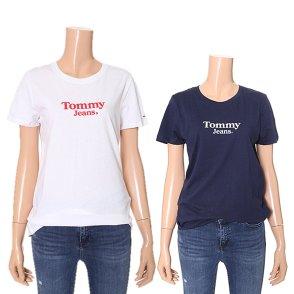 여성 면혼방 로고 반소매 티셔츠 TUMT1KOE29A0