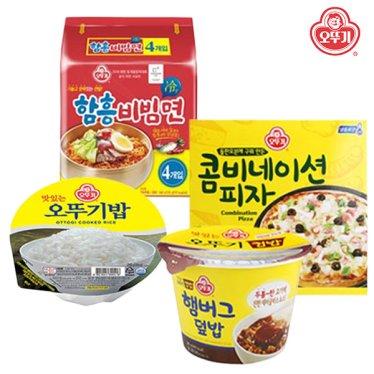 오뚜기 컵밥/비빔면/피자外 인기상품 모음전