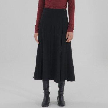 Pleats Skirt - Black