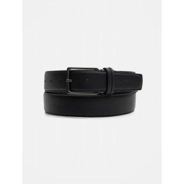 가락지 컬러 비조 벨트 - Black (BE9882M215)