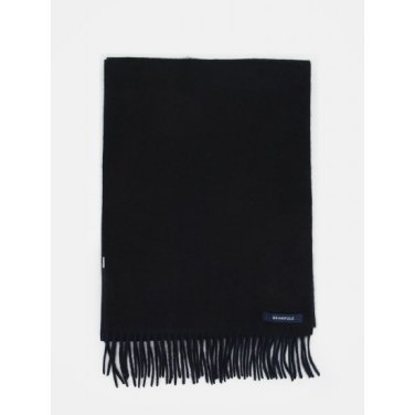 솔리드 캐시미어 머플러 - Black (BE9X84M015)