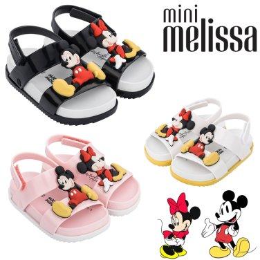 [미니멜리사] 디즈니 미키 미니 쌍둥이샌들 Disney Twins (MSKBJ3TSCS11-EL)