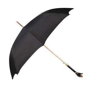 맨럭셔리 블랙 맨즈 패브릭 로트와일러 핸들 1단 자동 우산 MX461K54