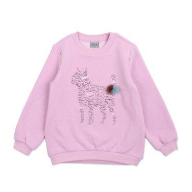 BS68TS02PK여아 핑크 스웻셔츠