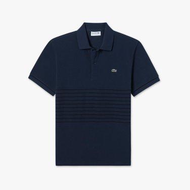 [엘롯데] 남성 스트라이프 블록 반팔 폴로 셔츠 LCST PH426E-19BEV0