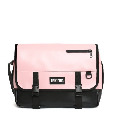 ICON MESSENGER BAG / LEATHER PINK