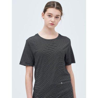 블랙 핀 스트라이프 엔트리 티셔츠 (BF9342U105_)