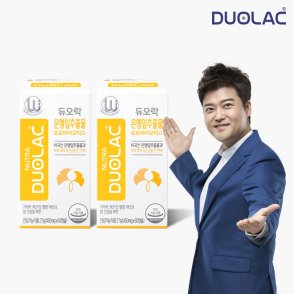 듀오락 은행잎추출물 프로바이오틱스 2통(60일분)