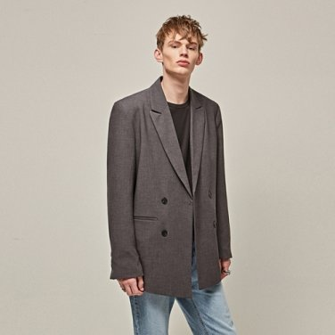 NORMAL OVER DOUBLE JACKET_GRAY