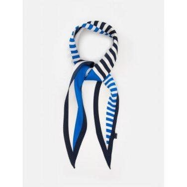 컬러블록 마름모 스카프 - Blue (BE9884M21P)