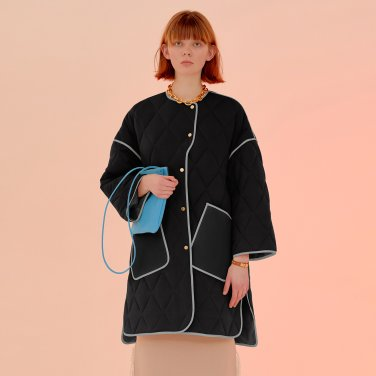Milo Cozy Coat_Black (JC20SSOU05BK)