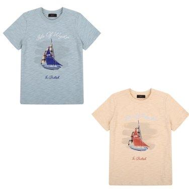 보트 그래픽 티셔츠 DPM12TR28M