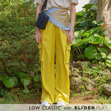[로우클래식] 19 SUMMER LOCLE _ snap track pants yellow (Z3LCI5PT105)