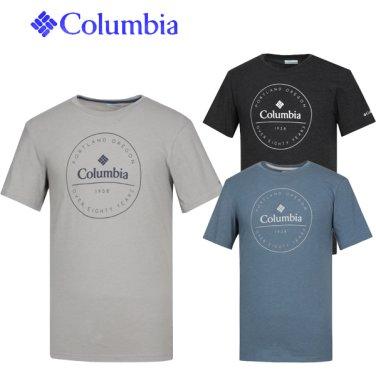 컬럼비아 남성 온첸 파크 기능성 라운드티 CZ2-AE0733