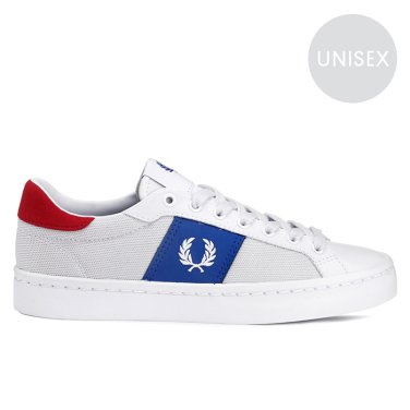 FRED PERRY Lawn Leather/Mesh (100) 남여공용 SFPU1936120-100