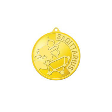 별자리메달-사수자리 3.75g