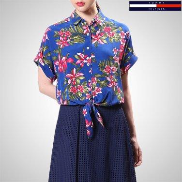TFMT2HCE22A0(비스코스 플로럴 반소매 셔츠)