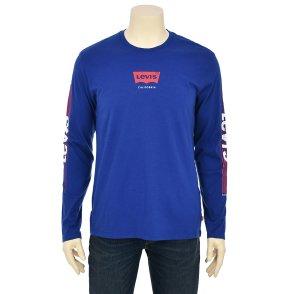 남성 로고 그래픽 긴팔 티셔츠(22538-0044)