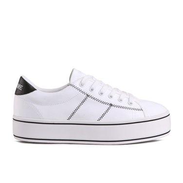 NO NAME Master Sneaker(015)  SNNF191OD04-015 여성용 캔버스 플랫폼 스니커즈