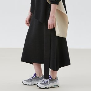 Knit Sealing Skirt (JC18FWSK14)