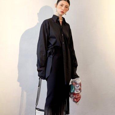 Kaily Fringe Skirt_Black (JC19FW2KailSKBK)
