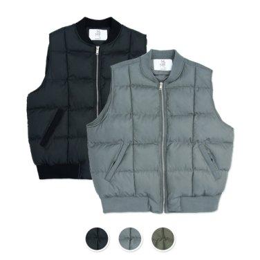 [패키지] Round Quilting Padded Vest 2pack Package