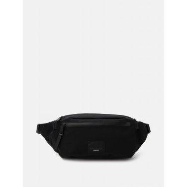 [장범준 착용] (남) 블랙 트루퍼 웨이스트 백 (BE93D2M285)