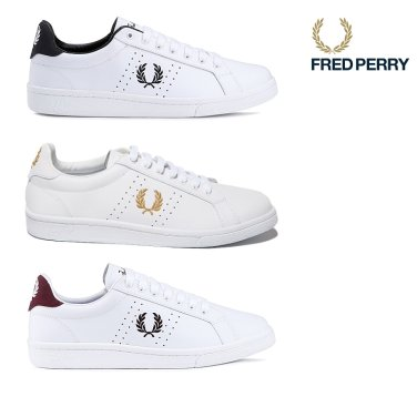 FRED PERRY B721 Leather(300)SFPU1837211-300