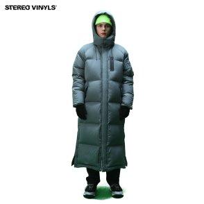 [스테레오바이널즈]공용_Stereo MA-1 Long Down Parka_Grey (SVJP8D002GE)