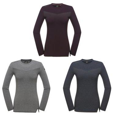 ROUNI(로우니) 여성 라운드 티셔츠 (DWU18224)