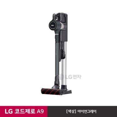 LG 코드제로 핸디스틱 A9 청소기 A958IA (아이언그레이/스마트인버터모터)