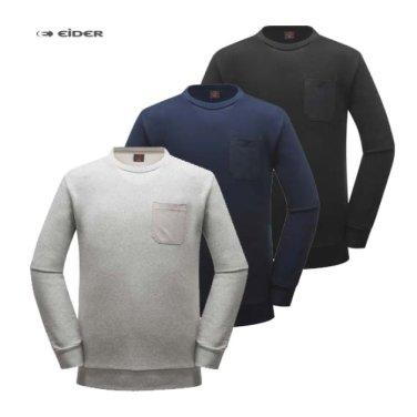 아이더 남녀공용 맨투맨 티셔츠 DMF18205