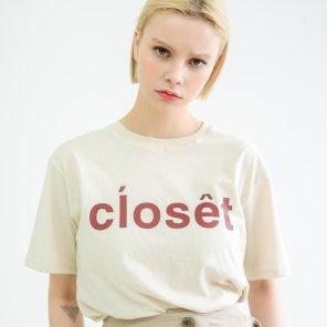 Closet Short Sleeve Tshirts Light Beige(BSTS320_02)
