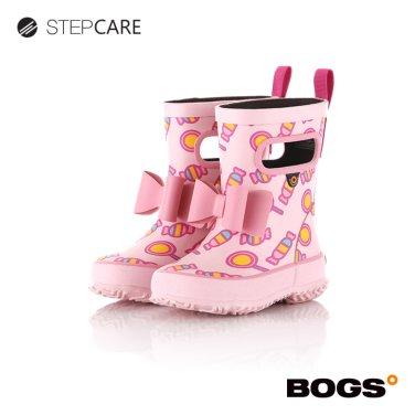 [보그스] 19SS 레인부츠 스키퍼-리본캔디핑크 유아동장화
