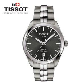 PR 100 티타늄 클래식 쿼츠 T101.410.44.061.00