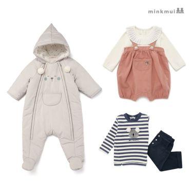 [밍크뮤] 매일 입고 싶은 포근함~ 상하복/우주복/바디수트 外