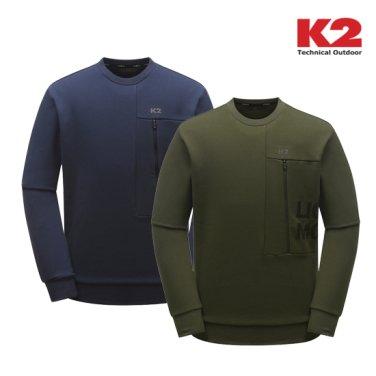 공용 절개 맨투맨 티셔츠 (KMU283)